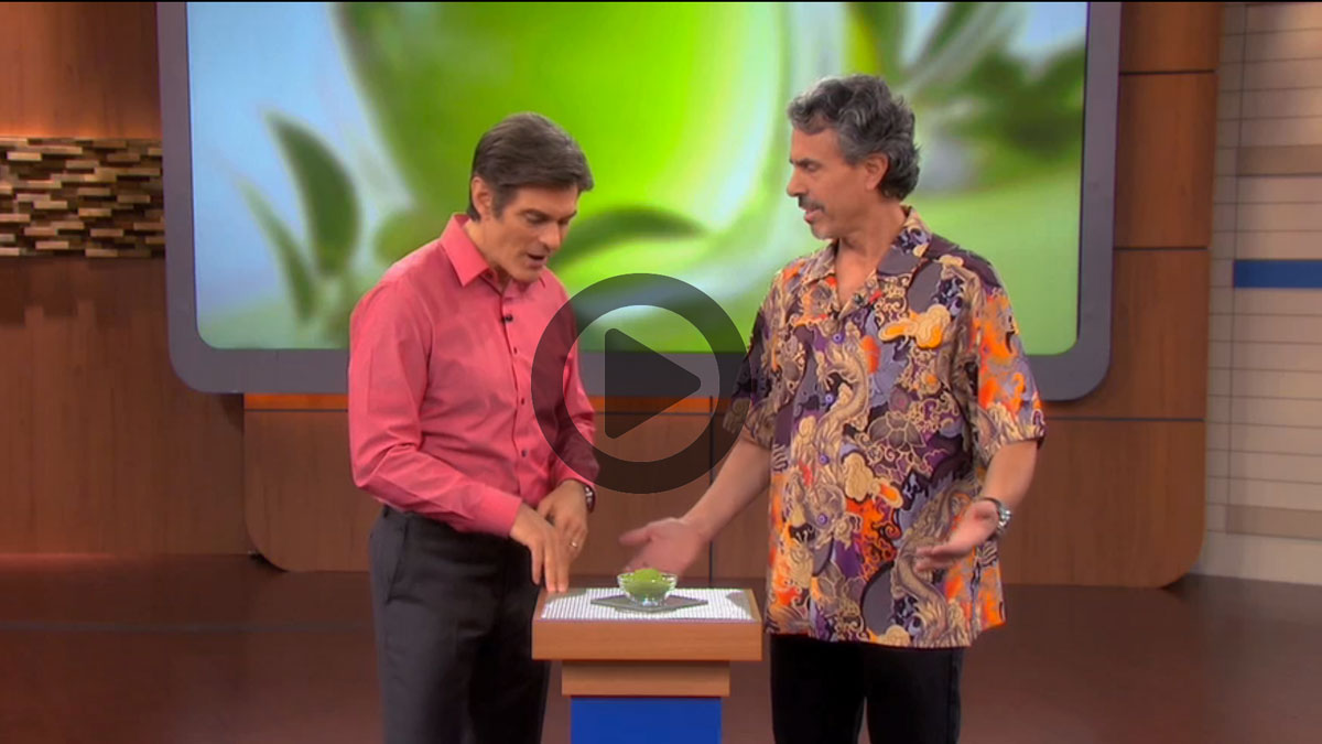 Dr. Oz - Matcha Health Benefits